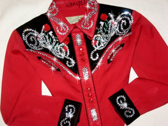 * ROPER RED! EMBROIDERED.. CHILD SIZE ! MEGABLING!