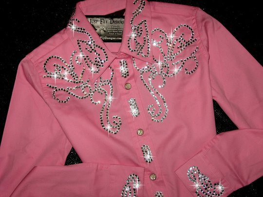 YOUTH! PERFECTLY PINK! RODEO PRINCESS! SIZE LARGE