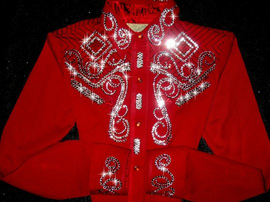 CLASSIC RED with CRYSTALS!  NEW 2011 DESIGNS!