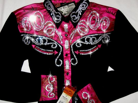 ONE OF A KIND!  ROPER CLASSIC! HOT COLORS! BLING GALORE!