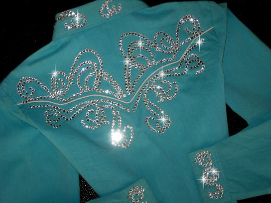 YOUTH! ROPER! TURQUOISE!!MAXIMUM BLING!