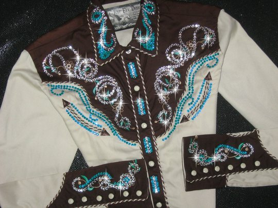 PANHANDLE SLIM! CHOCOLATE, TURQUOISE AND TAN! *SOLD