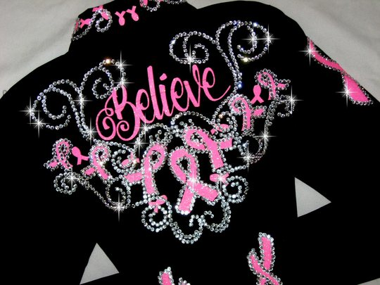 BELIEVE! HOPE!  SURVIVE! PINK RIBBONS! TETWP!  MEGABLING!