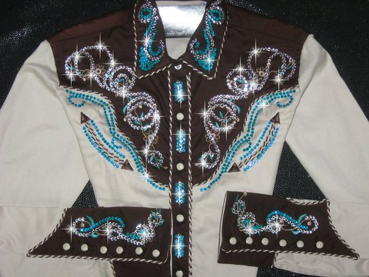 PANHANDLE SLIM! CHOCOLATE, TURQUOISE AND TAN!