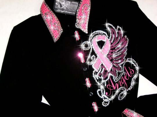 SOLD! SOLD! SOLD! SOLD!   I BELIEVE IN ANGELS...PINK RIBBON! TETWP!
