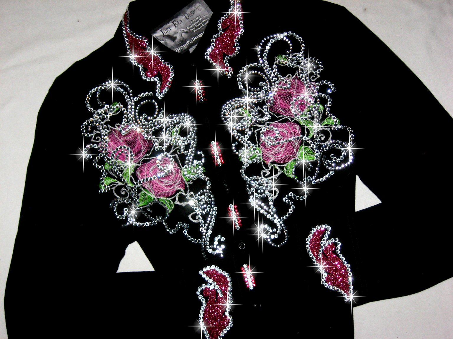 4 PINK FANTASY on BLACK! MAX BLING!!