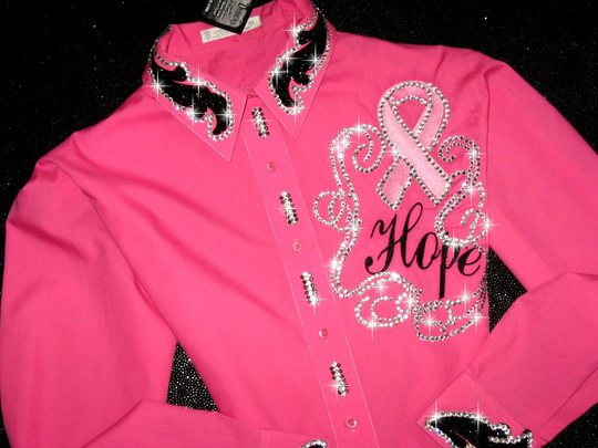 RIBBON OF HOPE Rodeo Queen Bling!