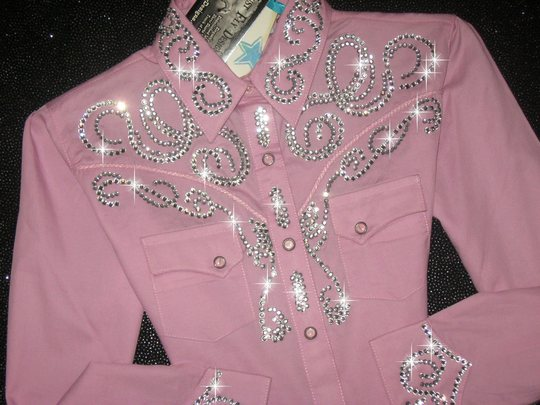 PINK ANGEL! YOUTH SIZE! ALL BLING!