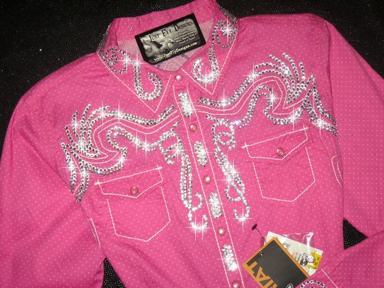 TETWP PERFECT! ARIAT! TOTAL CRYSTAL BLING!