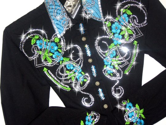 FRESH LIME & TURQUOISE!! BLING GALORE!