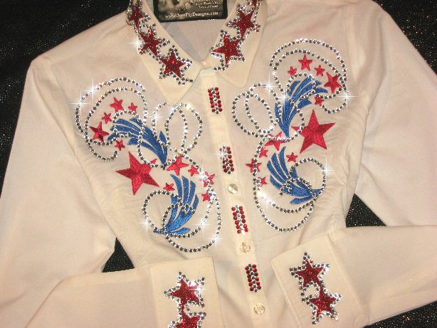 PATRIOTIC!! EMBROIDERED!  YANKEE DOODLE BABY!