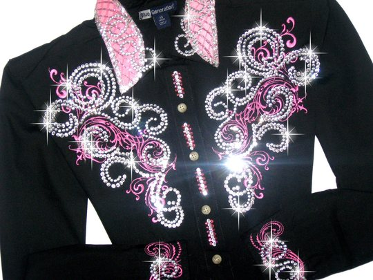 SALE PENDING---Perfectly Pink Scrolls