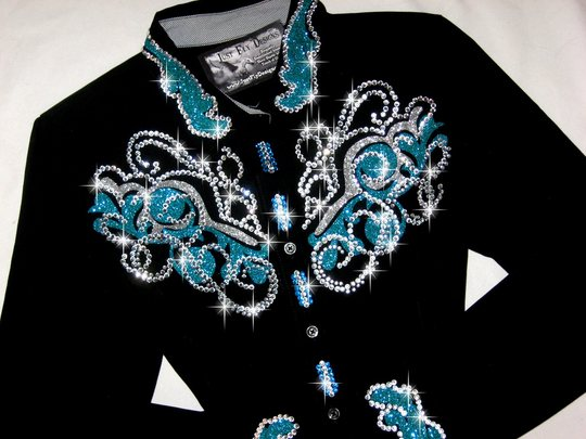 4 TURQUOISE & SILVER!!! SPARKLE & SHINE GALORE