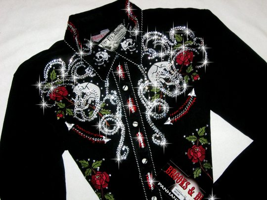 WESTERN SKULLS!! BLING GALORE!