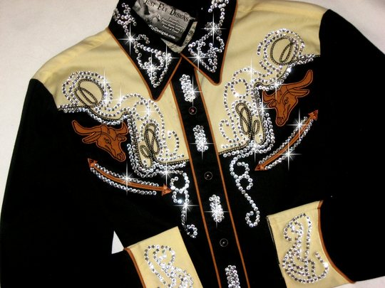 ROPER CLASSIC OLD WEST COLLECTION!  VINTAGE! CRYSTALS! BLING!