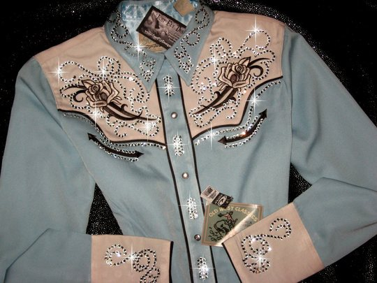 Scrumptious! BABY BLUE BLING! Classic Roper! Bling Galore!