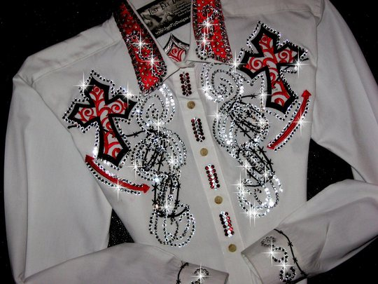 SOLD! SOLD! SOLD! SOLD! BARBED WIRE & CROSS! BLING GALORE!!!!!!!!!!!!!